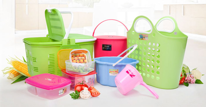 ظروف پلاستیکی آشپزخانه کوچک